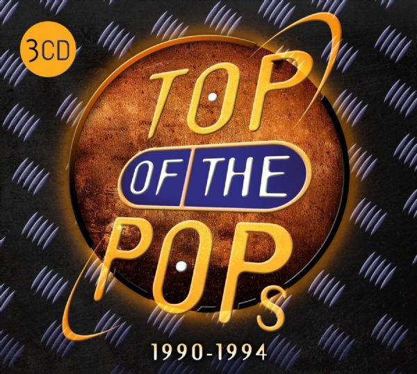 TOP OF THE POPS 1990  - 1994 (3 CD SET 2016) - NEW N SEALED
